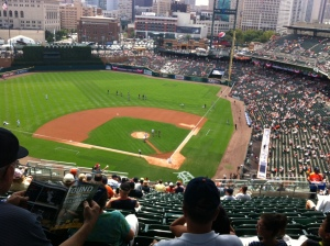 Comerica Park From The Upper Deck