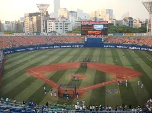 Yokohama Bay Stars Batting Practice