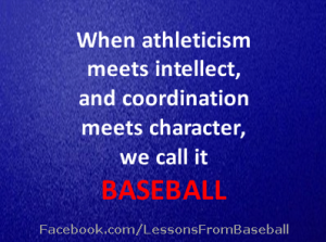 Lessons From Baseball