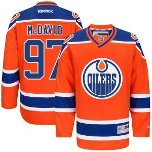 Connor McDavid | Edmonton Oilers Alternate Jersey